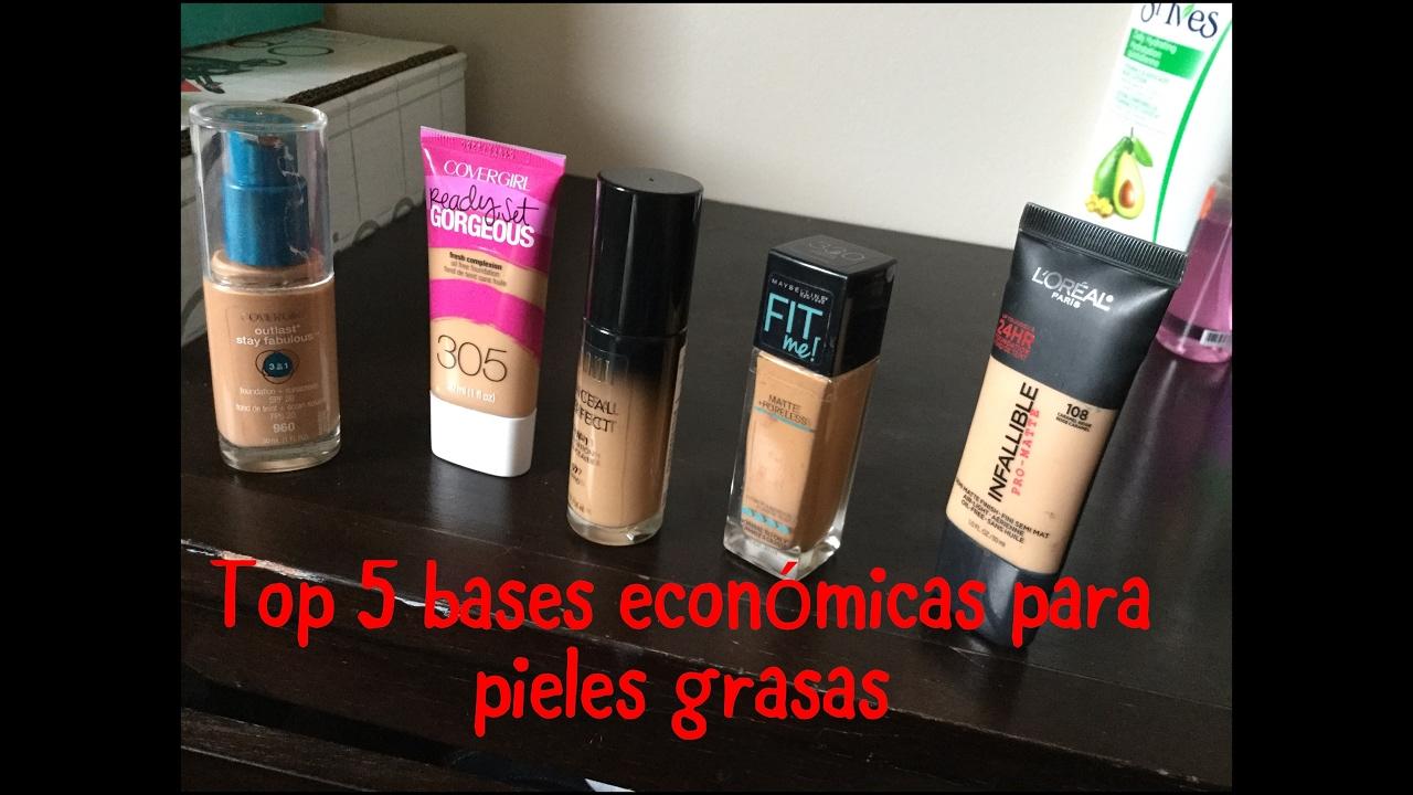 maquillaje de farmacia piel grasa