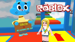 Let's Play Roblox - Amazing World of Gumball Obby