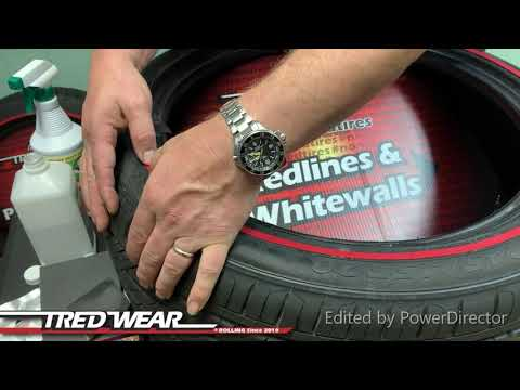 TredWear Red line installation video