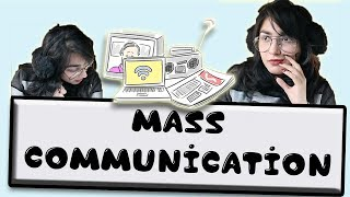 BASICS: CAREER IN MASS COMMUNICATION - Part 1 || Sidhikka Bajpai