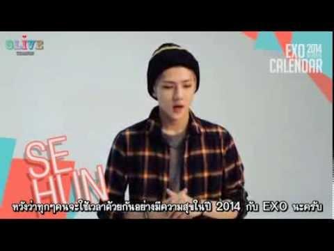 [THAISUB] การถ่ายทำ EXO 2014 Season Greetings