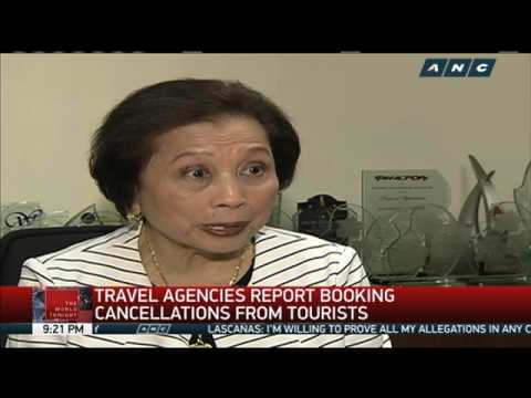 Travel agencies report tourists cancelling Bohol bookings