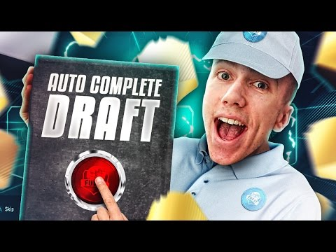 THE AUTOMATIC DRAFT!!