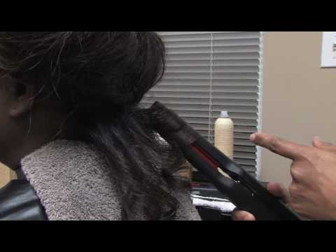 Hair Care Tips : Cute Hairstyles Black Women Can Do With Flat Irons