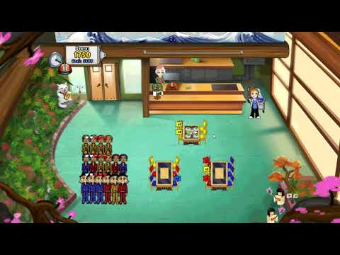 Diner Dash: Grilling Green - Toshiro's Japanese Grill Level 1