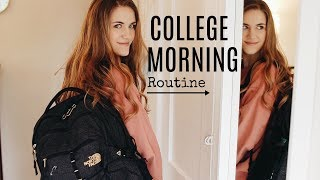 MY COLLEGE MORNING ROUTINE @ THE UNIVERSITY OF OREGON!