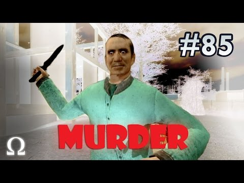 HEDGE WALKING, DELICIOUS FOIL PUDDING! | Garry's Mod Murder #85