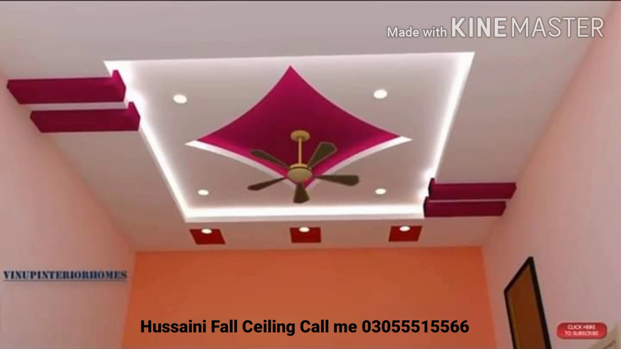Beautiful Ceiling Design For Bedroom New 2020 Youtube
