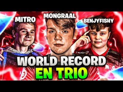 🔥NOUVEAU WORLD RECORD SAISON 10 EN TRIO, C'EST SCANDALEUX ! (MONGRAAL + BENJY + MITRO)