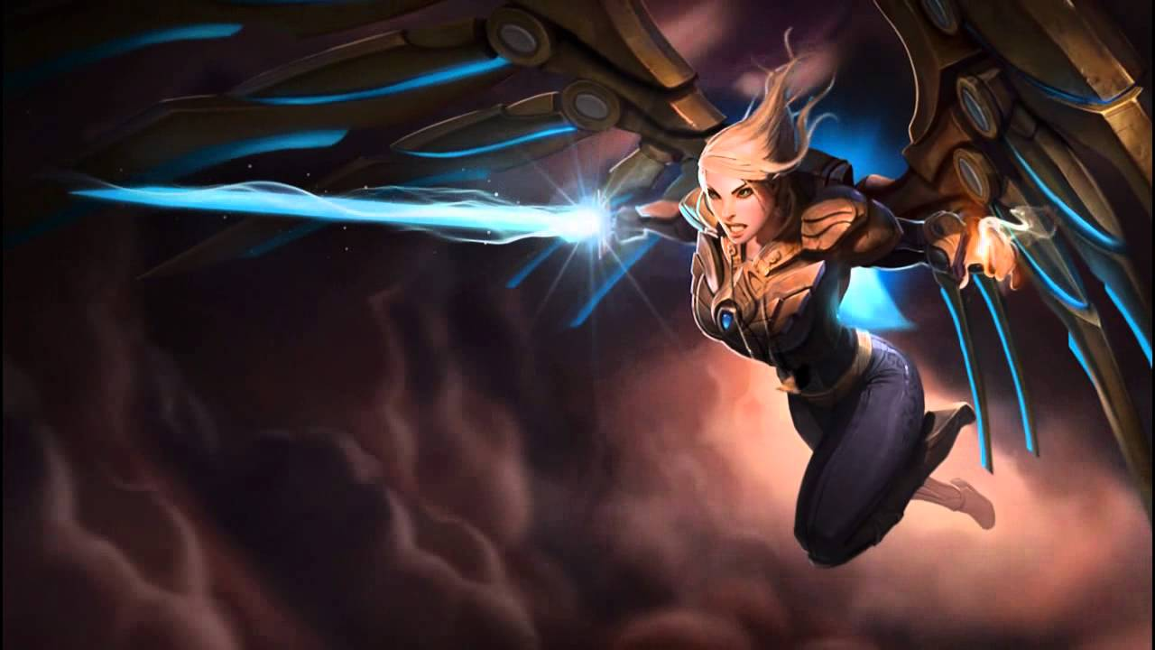 Kayle Aether Wing Dreamscene Hd Wallpaper Animated Login