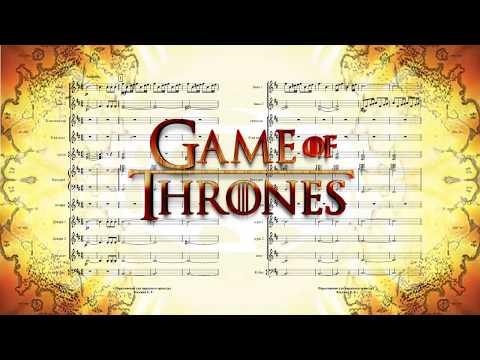 "Партитура score ""Game of Thrones"" Ramin Djawadi"