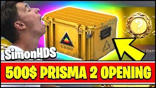 NEW CS:GO PRISMA 2 CASE OPENING W/ SIMONHDS90 AND TOSHY