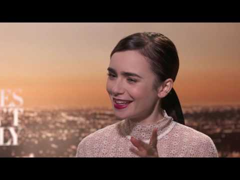 RULES DON'T APPLY: Backstage with Lily Collins & Alden Ehrenreich