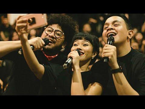 Cinta dan Rahasia - Yura Yunita ft. Tulus & Kunto Aji - Kumpul Teman Tulus 4 Juni 2017