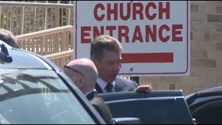Vince McMahon attends Bruno Sammartino's funeral with daughter Stephanie