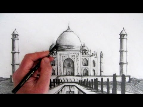 How to Draw the Taj Mahal: Narrated Step by Step