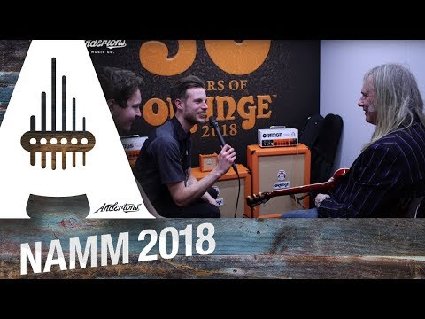 NAMM 2018 Archive - Orange Amps - The Brent Hinds and the Rocker 15