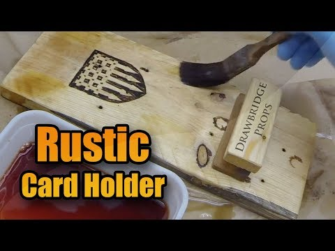 Business Card Holder Build - DIY Pallet Wood Projects