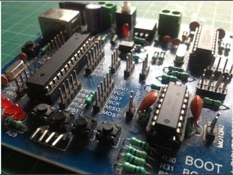 Let's program a custom AVR board with Arduino!