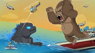 Baby Godzilla vs. Kong - Animation