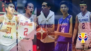GILAS PILIPINAS 2023 FIBA WORLD CUP STARTING LINE-UP (MY LINE-UP)