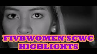 Jaja Santiago FIVB WCWC Highlights