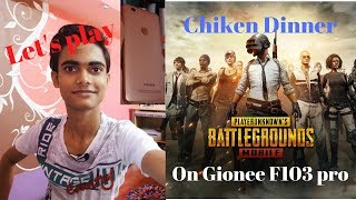 🔥PUBG Mobile gameplay in Gionee f103 pro📱
