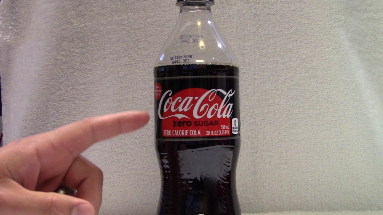 research on coke zero Coca-cola already uses a blend of aspartame and ace-k in coke zero sugar, which is designed to taste more like regular coke than diet coke acevedo, however, says that ace-k and aspartame are.