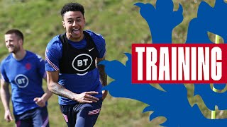 Jesse Races Dier, Watkins & DCL Shooting & 5-A-Side In The Sun!🔥 | Inside Training | England