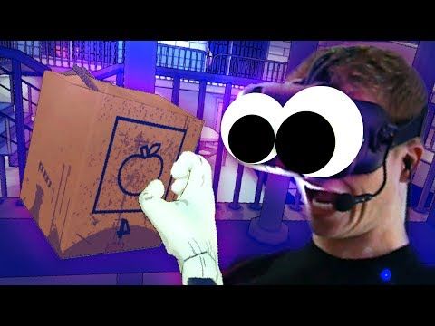 THE MYSTERIOUS PRISON BOX!?! - Prison Boss VR (VR HTC VIVE Gameplay)