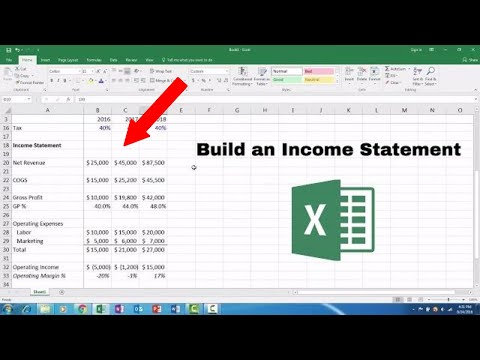 How to Build a Basic Financial Model in Excel