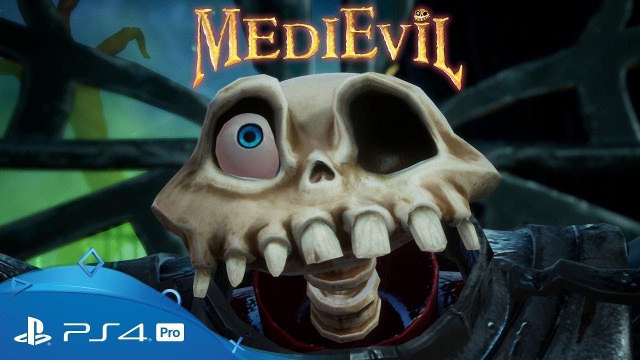 Посмотрите дебютный трейлер ремастера MediEvil — олдскульного экшена про костлявого сэра Дэна