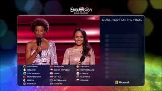 Eurovision Song Contest 2015 - Semifinal 2 qualifiers