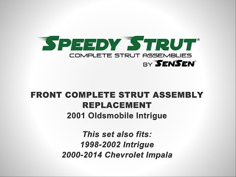 Replacement of Front Complete Strut Assemblies on a 2001 Oldsmobile Intrigue l SENSEN Shocks & Strut