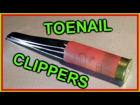 Toenail clipper shotgun round we test them youtube