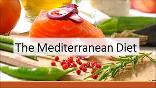 Diabetes, The Mediterranean Diet, and You