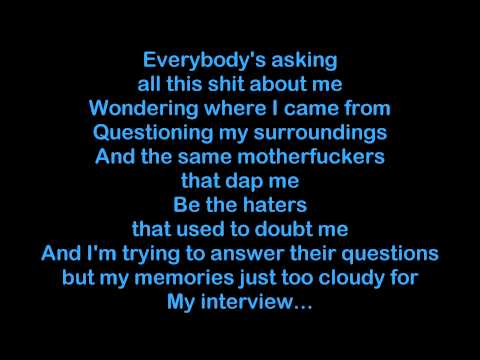 Rittz - My Interview [HQ & Lyrics]