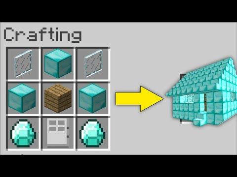 ELMAS EV YAPMAK!😱 - Minecraft