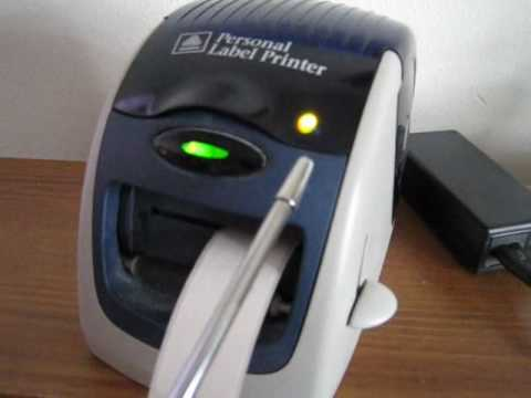 Avery label printer replaced by DYMO label printer