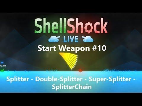 SSL Shoot Every Weapon #10: Splitter - Double-Splitter - Super-Splitter - SplitterChain