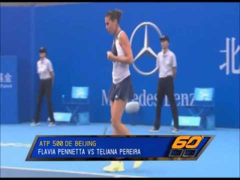 Flavia Pennetta ATP 500 de Beijing - 60 Minutos