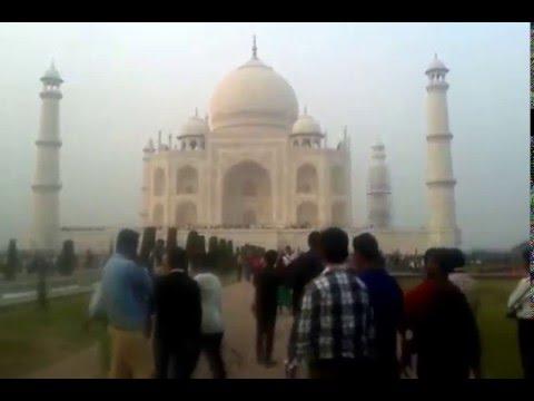 Taj Mahal Visit during India Travel