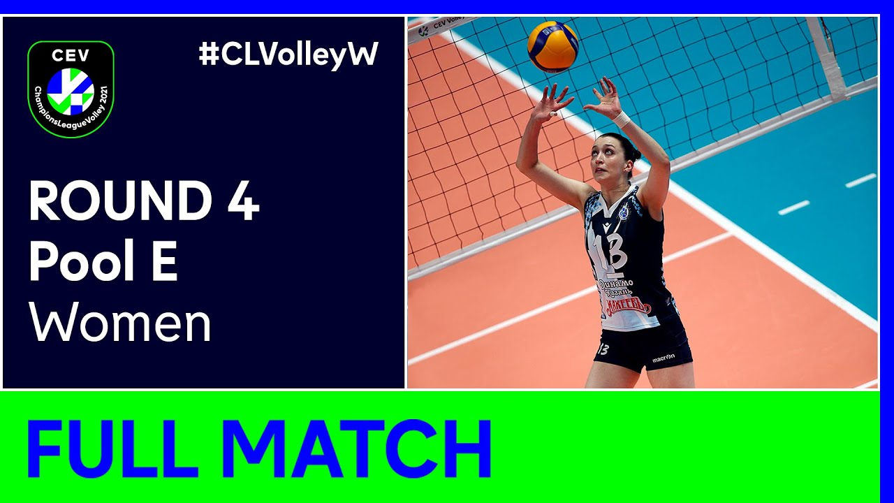 Dinamo-Ak Bars KAZAN vs. VK UP OLOMOUC - CEV Champions League Volley 2021 Women Round 4