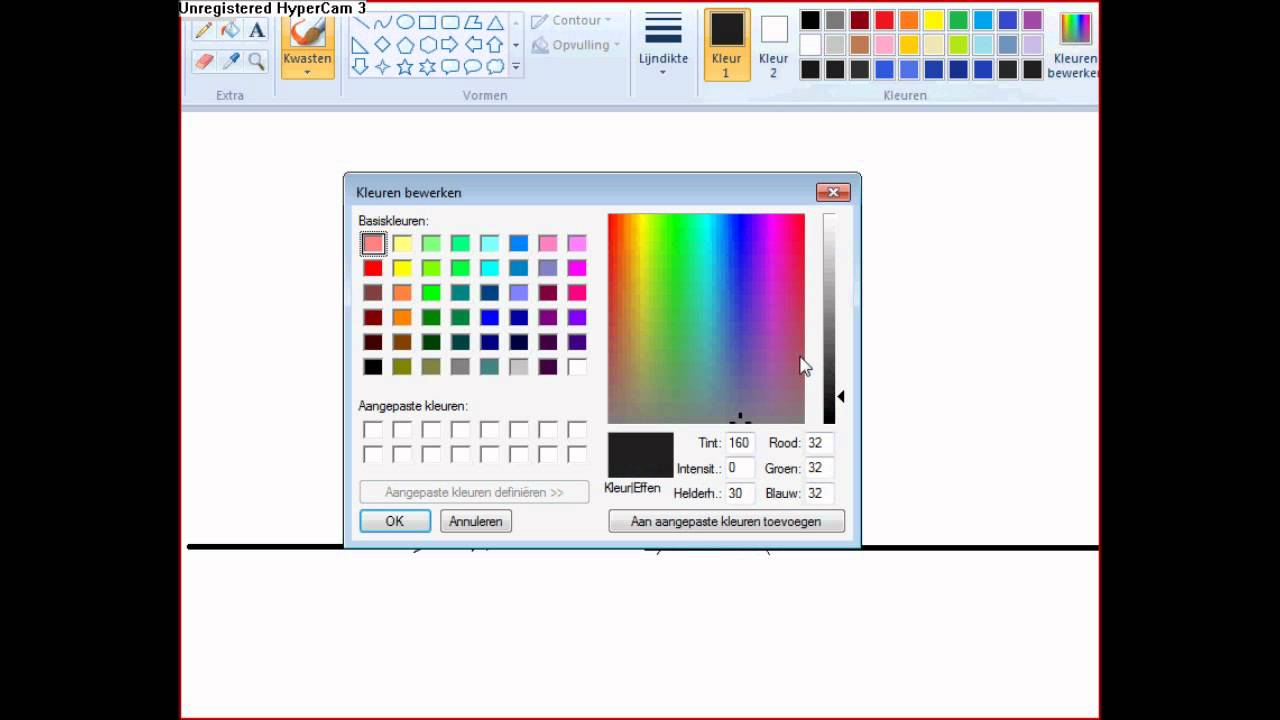 Tekenen met paint by amber youtube for Computer tekenen programma