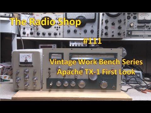#111 Vintage Work Bench Series Apache TX 1 First Look