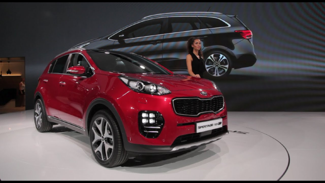 2017 kia sportage 2015 frankfurt motor show youtube. Black Bedroom Furniture Sets. Home Design Ideas