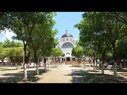 More than just a tourist attraction in Caacupe, Paraguay. The Basilica de Caacupe