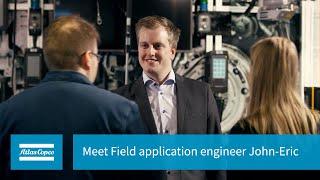 Meet Field application engineer John-Eric