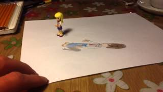 3D drawing - LEGO friends