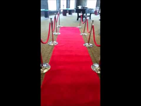 Red Carpet | Stanchion Post | VIP Event Rentals - Chicago, IL